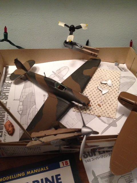 Spitfire Mk.1 painting..-photo-2-jpg