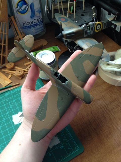 Spitfire Mk.1 painting..-photo-3-jpg