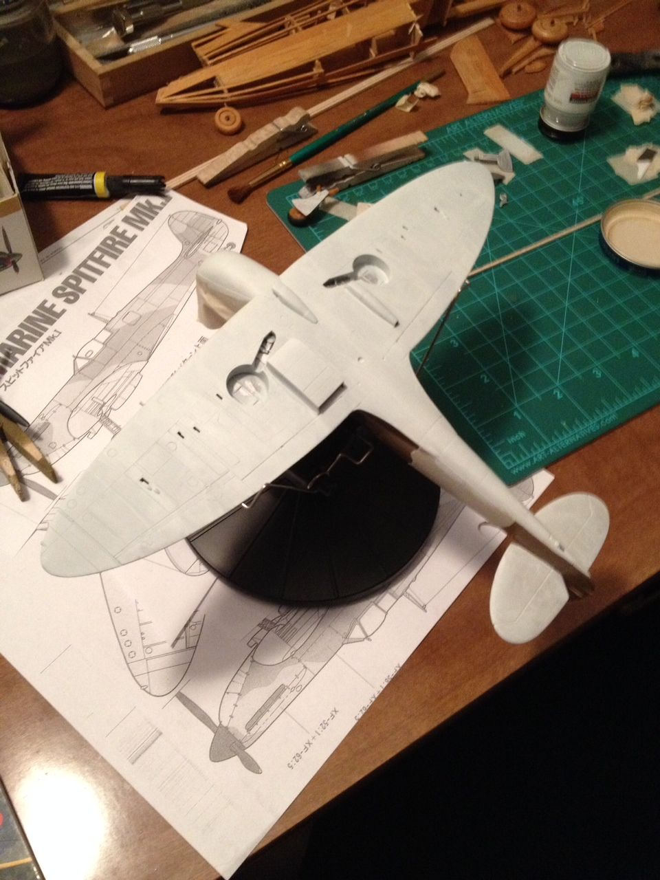 Spitfire Mk.1 painting..-photo-4.jpg