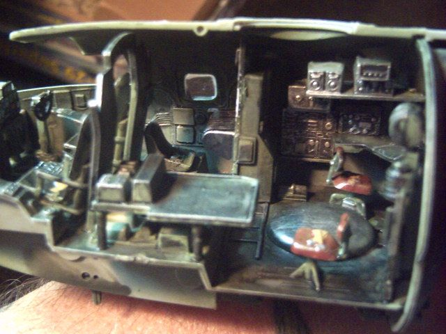 b 29 inside  29 Superfortress Interior Revell