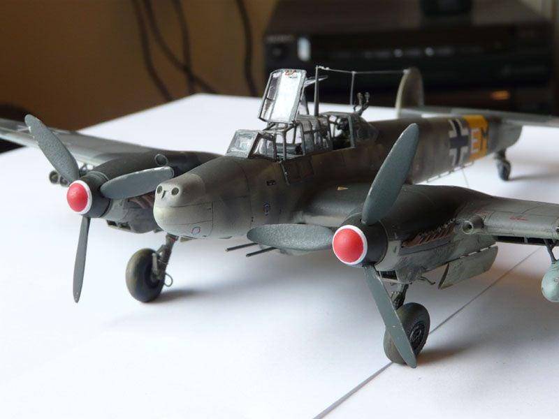 **** DONE: 1/48 Messerschmitt Bf 110 G-2 - Me/ Fw Group Build.-props-jpg