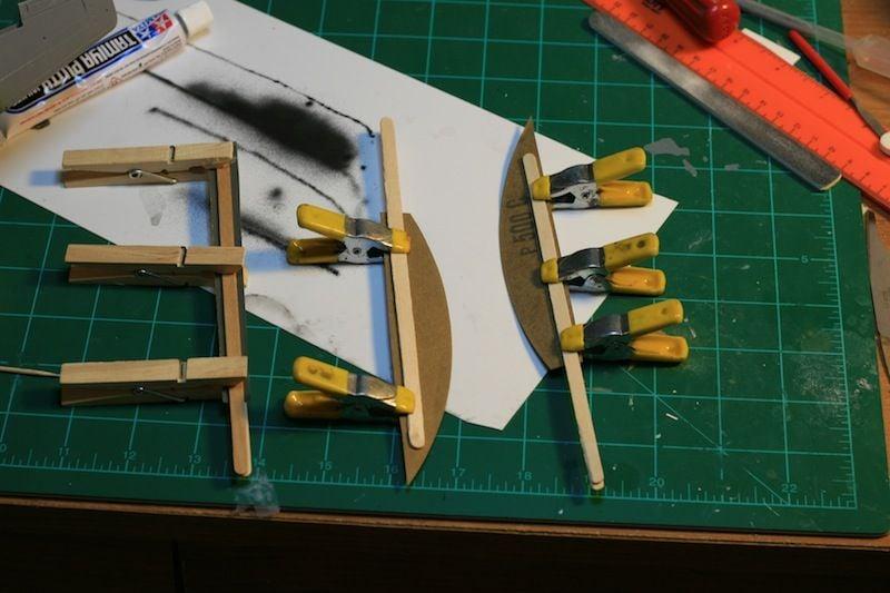 Tamiya 1/48 P-51B Build-sanding-sticks-jpg