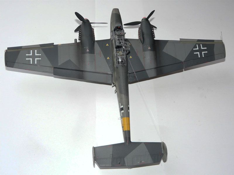 **** DONE: 1/48 Messerschmitt Bf 110 G-2 - Me/ Fw Group Build.-top-view-finished-jpg