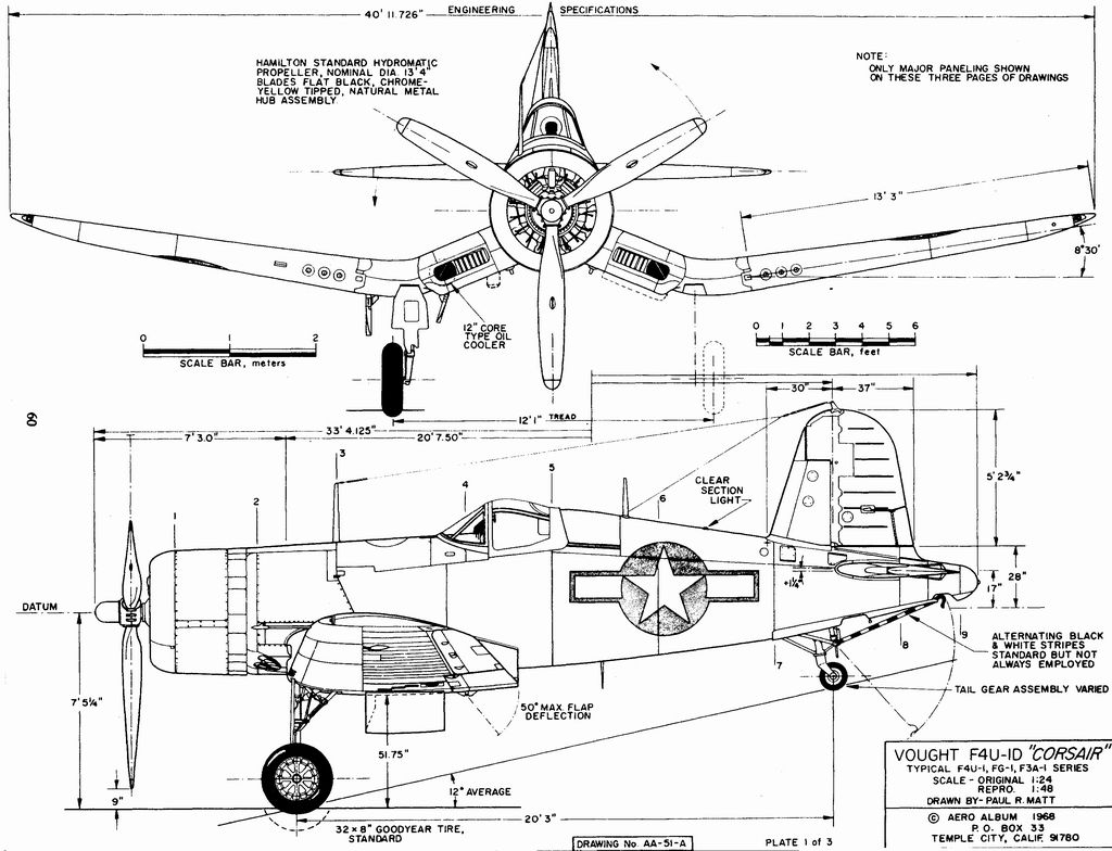 corsair engine diagram