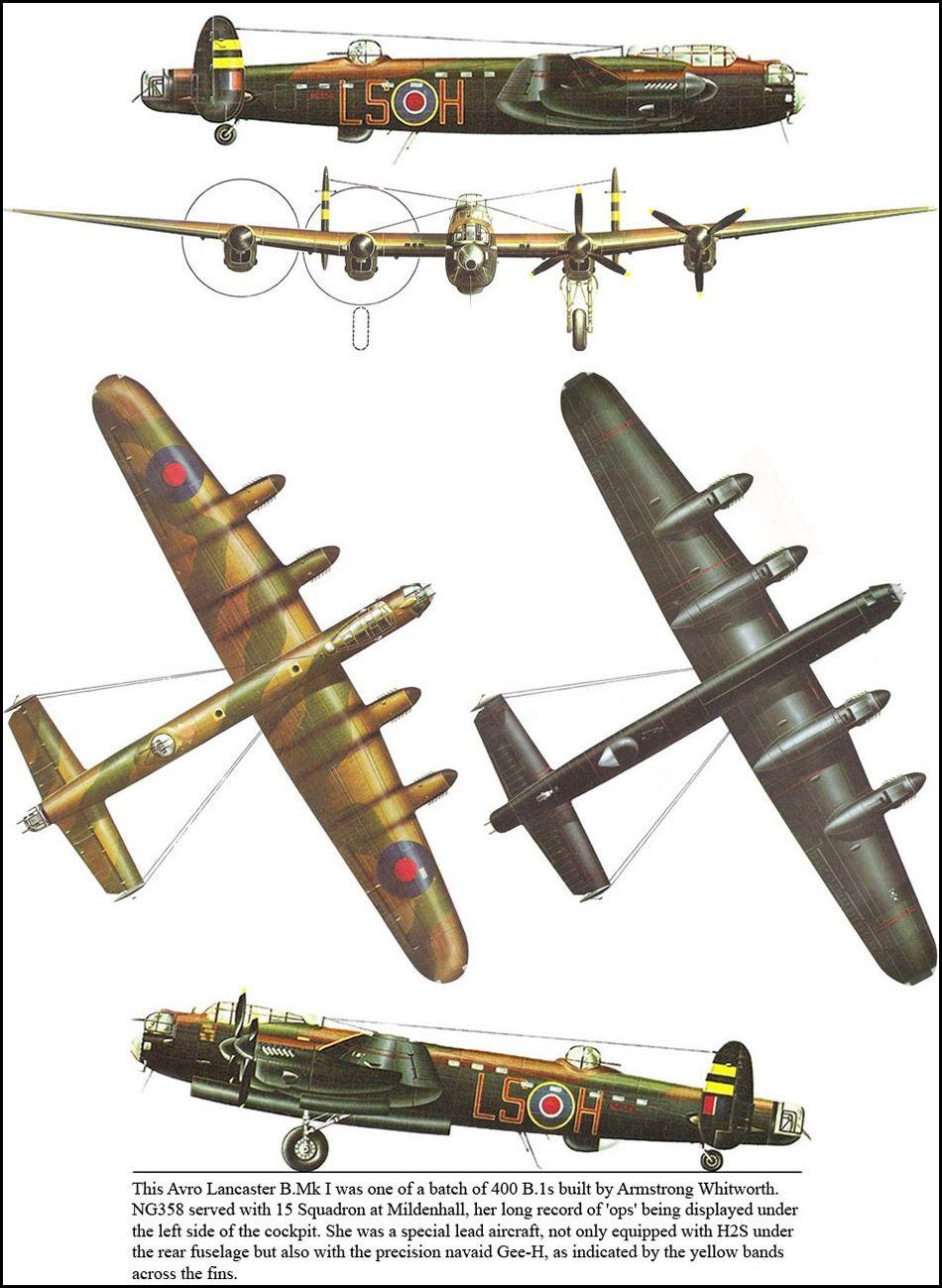 Avro Lancaster Bmk I Aircraft Of World War Ii Piston Engine Diagram Forums