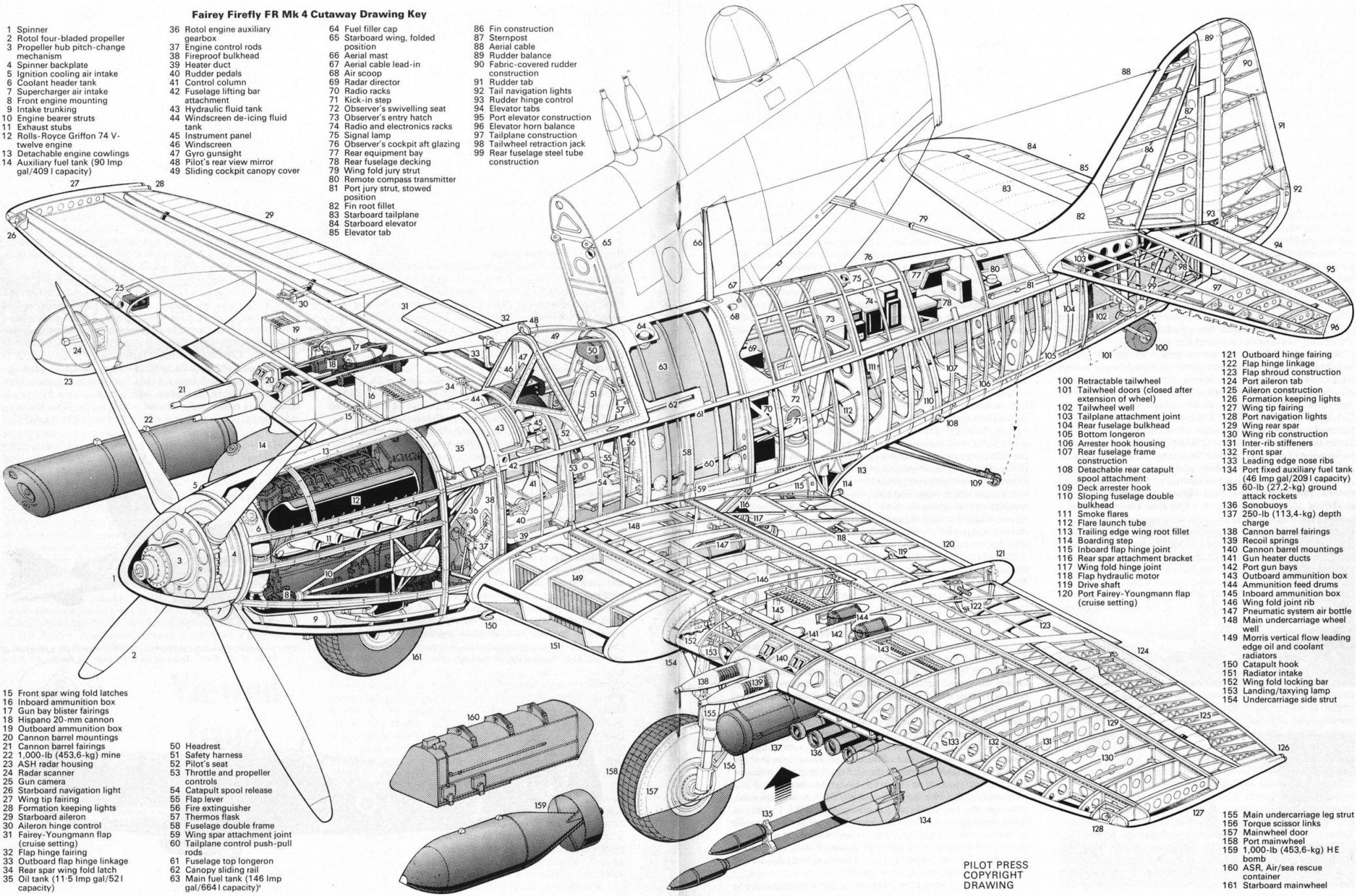 Fairey-firefly-cutaway-drawing